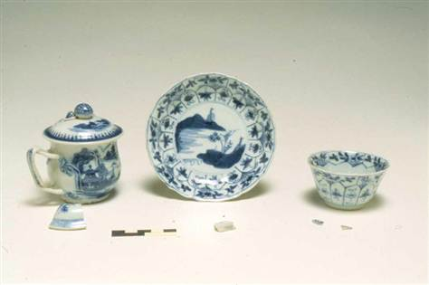 Reconstructed pirate china